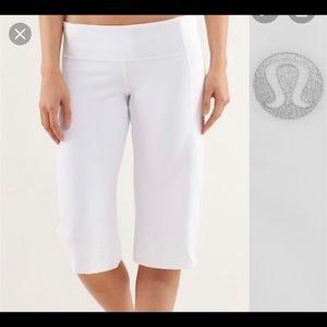 Lululemon Wide leg Crop pants